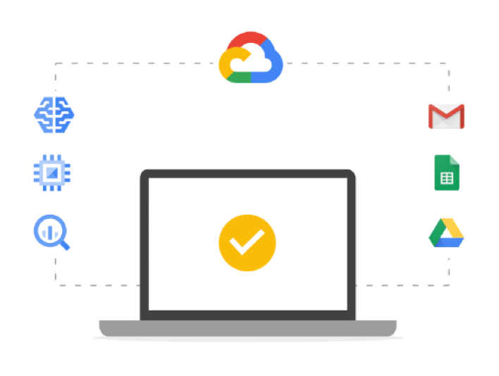 為 G Suite 和 Google Cloud Platform 提供