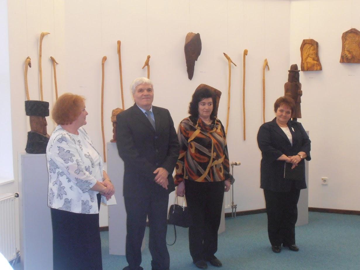 Czupp Pál kiállítás megnyitója