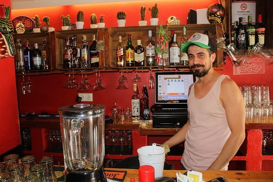 La Lupe Tapería, bar ubicado en la calle Trajano.