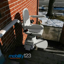 Photo: Outdoor Stairlift Church