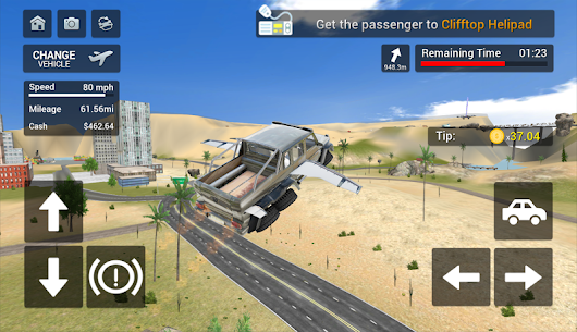 Flying Car Transport Simulator Apk Download For Android and Iphone 5