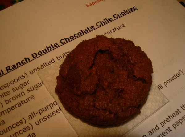 Spring Hill Ranch's Chile Double Chocolate Cookies Recipe