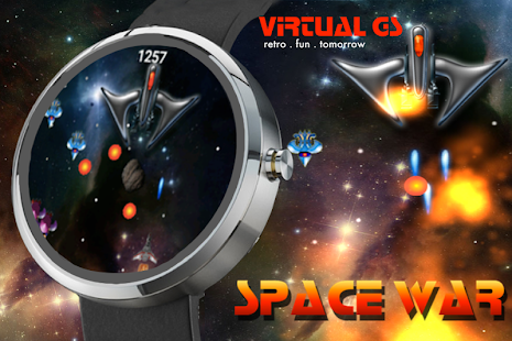 Space War (Wear OS) Screenshot