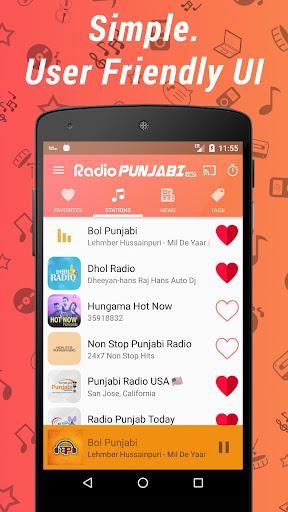 Punjabi Radio HD - Music & News Stations ss1