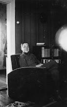 Photo: Matti Jaatinen neljän päivän lomalla lokakuussa 1941