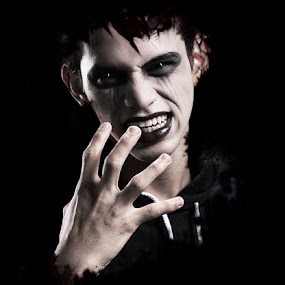 Argghhh by Zackde Lubis - People Portraits of Men ( vampire, dark, people )