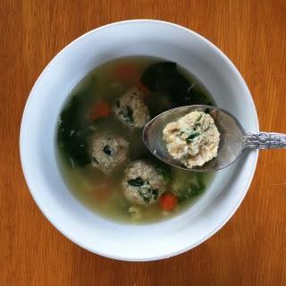 20-minute Italian Wedding Soup.