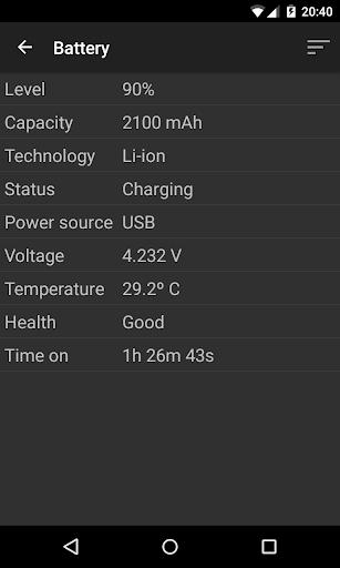 Phone Tester (hardware info) screenshot 6