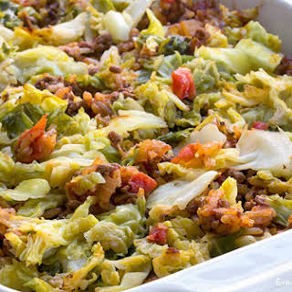 Stuffed Cabbage Casserole.