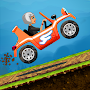 Angry Granny: Racing Car APK icon