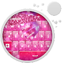Pink Keyboard HD icon