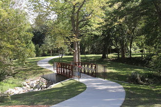Photo: Rainbow Park and Trail in Excelsior Springs Missouri