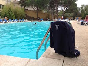 Photo: Bord d'une piscine à Rosas (Espagne) / août 2015