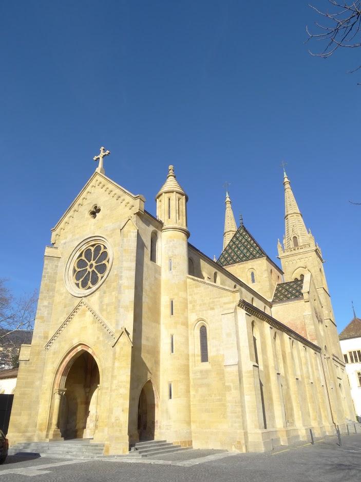 Collégiale Notre-Dame à Neuchâtel