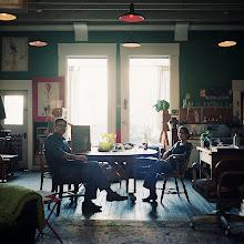 Photo: title: Michael Owens + Holen Kahn, San Francisco, California date: 2014 relationship: friends, art, met at Hampshire College years known: Holen 20-25, Michael 0-5