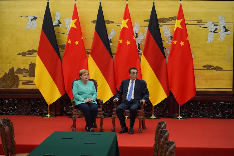 Angela Merkel calls for Hong Kong citizens' freedom to be