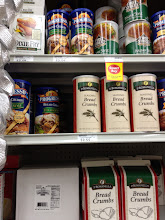 Photo: Picked up a thing of bread crumbs way cheaper then most stores.