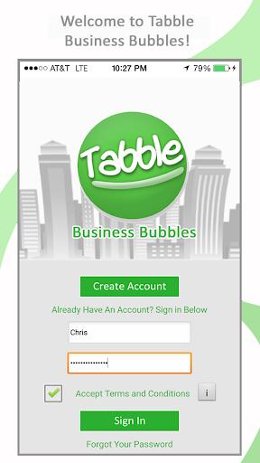 Tabble Business Bubbles
