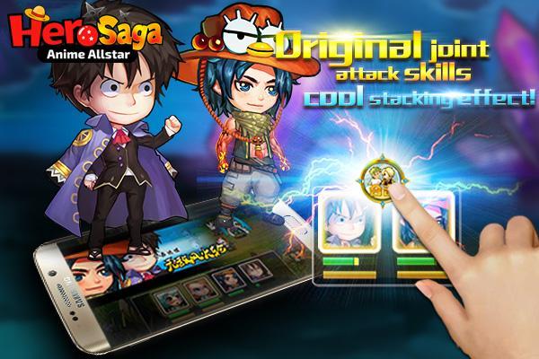 android Hero Saga - Anime Melee Game Screenshot 3