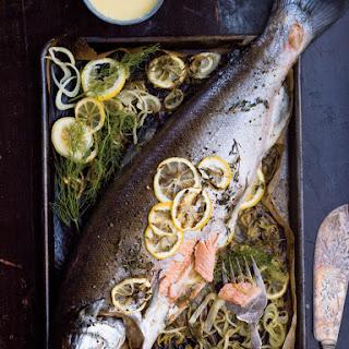 Whole Roasted Salmon Recipes