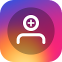 Followers track for Instagram icon