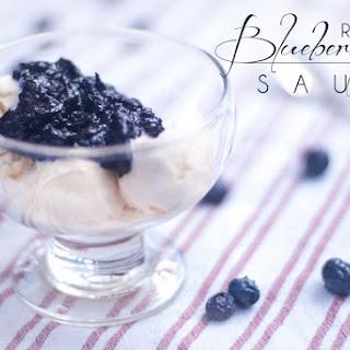 Blueberry Raspberry Sauce for Chicken, Pork, Ice Cream, etc