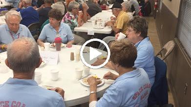 Video: Our group enjoying breakfast.....