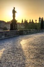 Photo: Sunrise on Charles Bridge - Prague, Czech Republic  #sunrisesaturday curator: +Josh Davis +Sunrise Saturday G+ Page: +Sunrise Saturday