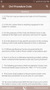 CPC - Civil Procedure Code - náhled