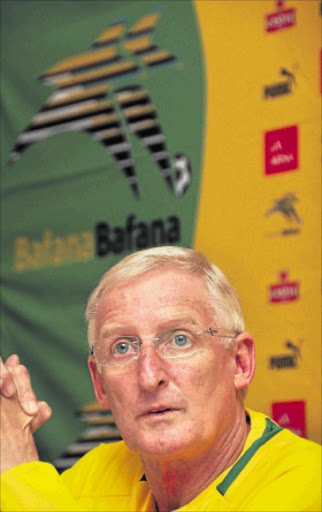 CONFIDENT:        Bafana head coach Gordon Igesund        PHOTO: Gallo Images