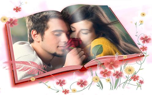 Valentine's Day Photo Frames Screenshot