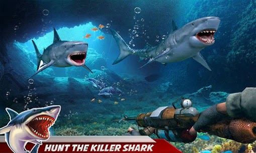 Angry Shark Attack: Deep Sea Shark Hunting Games 5
