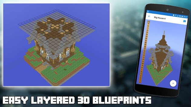 Download 3d blueprints for minecraft apk latest version app for 3d blueprints for minecraft poster malvernweather