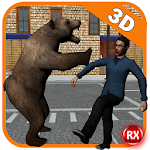 Wild Bear Attack 3D Icon