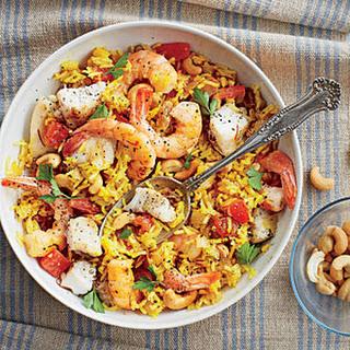 Seafood Biriyani