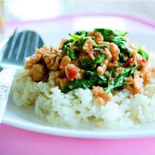Stir-Fried Chicken with Holy Basil.