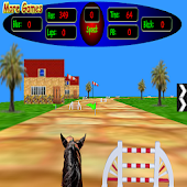 3D Horse Racing FREE Version
