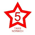 Five Star Taxis Norwich icon