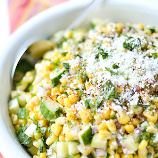 Mexican Street Corn & Cucumber Salad