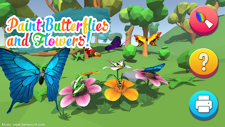 AR Butterflies and Flowers APK screenshot thumbnail 1