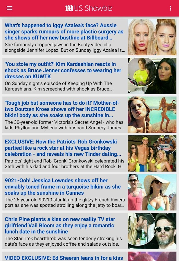 Daily Mail Online- screenshot