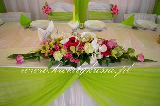 Photo: Dekor na stół - sala w Iskrzyni