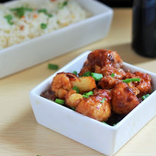 Gobi Manchurian Dry recipe, Cauliflower Manchurian