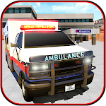 911 Ambulance Rescue Sim 2016 Icon