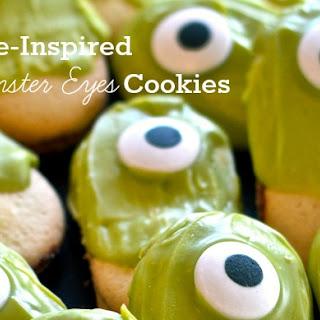Halloween Monster Eyes Cookies