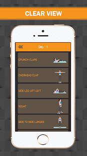 Female Workout Fitness Trainer Screenshot