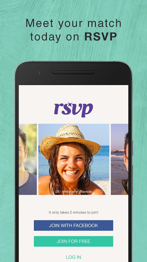 RSVP Dating- screenshot