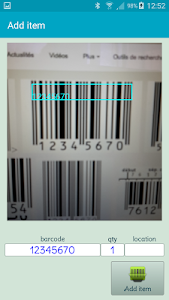 barcode stock quick finder screenshot 0