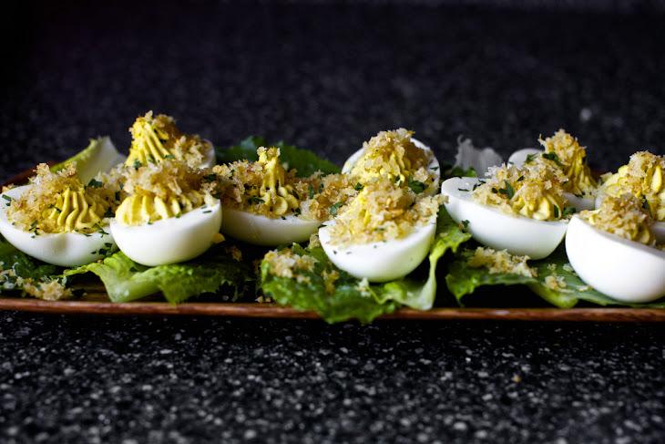 Caesar Salad Deviled Eggs Recipe