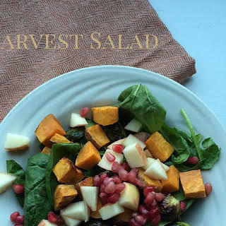 How to Make a Harvest-Themed Spinach Salad.